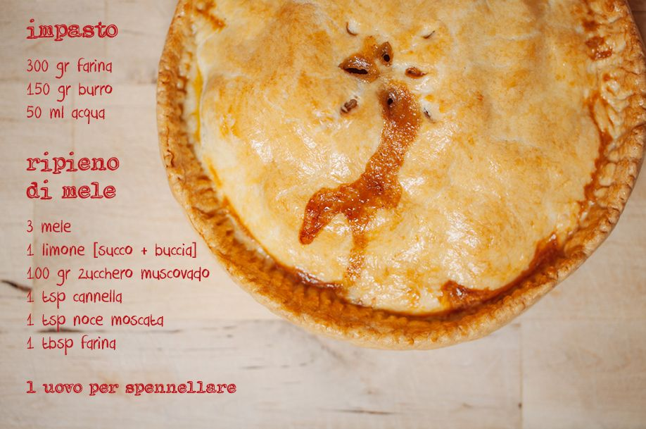 manfrotto apple pie ricetta