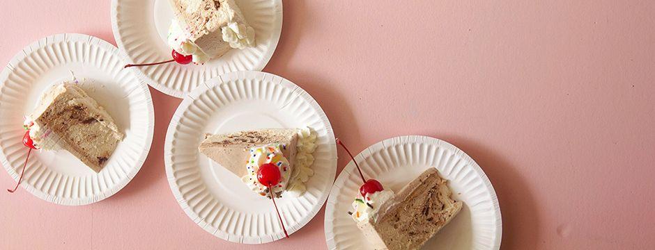 No-Bake Custard Cake