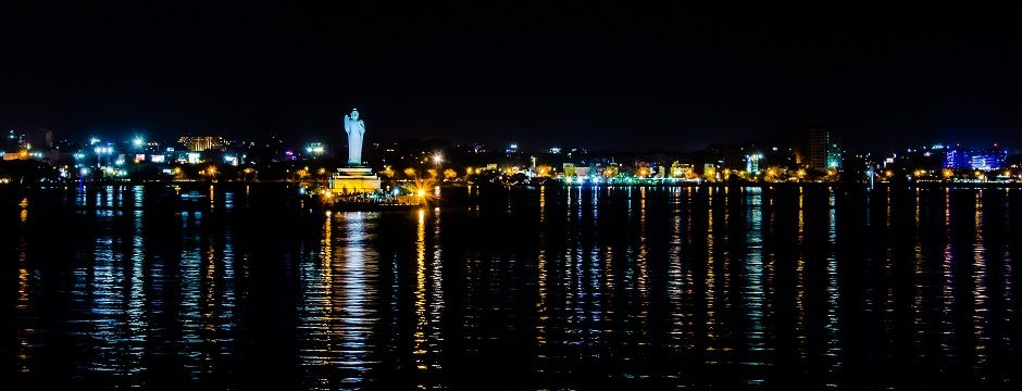 Hyderabad The City Of Pearls Shines In The Night