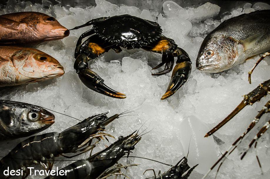 7 Kerala Experiences- sea food Kerala