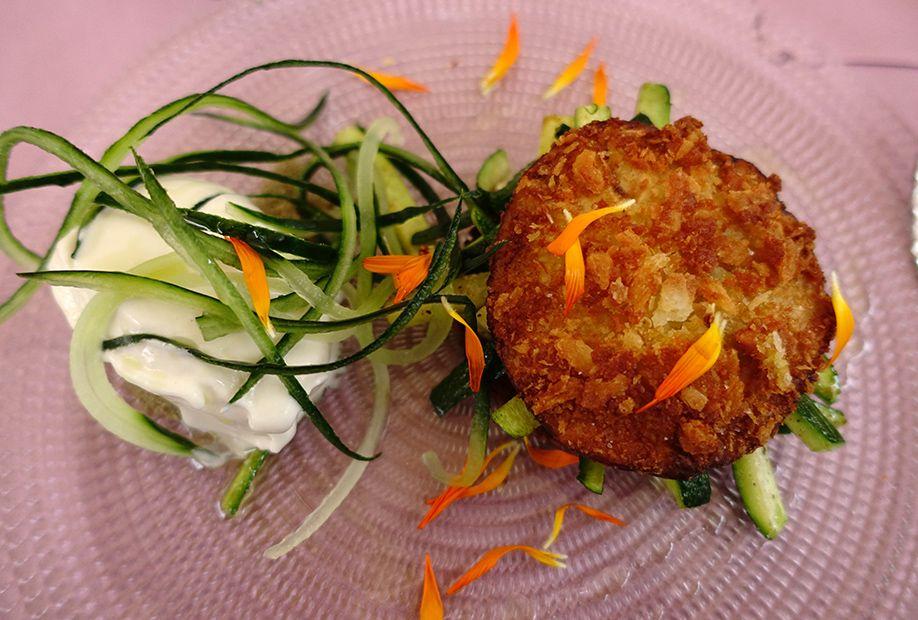 北イタリアぶらり探訪 ひとり旅 魚介と野菜のクロケット