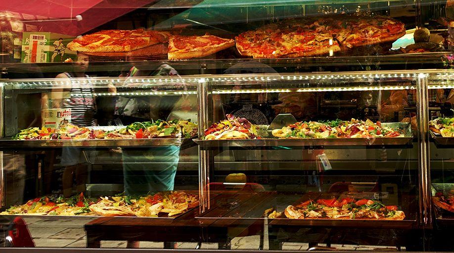 北イタリアぶらり探訪 ひとり旅 ピザ