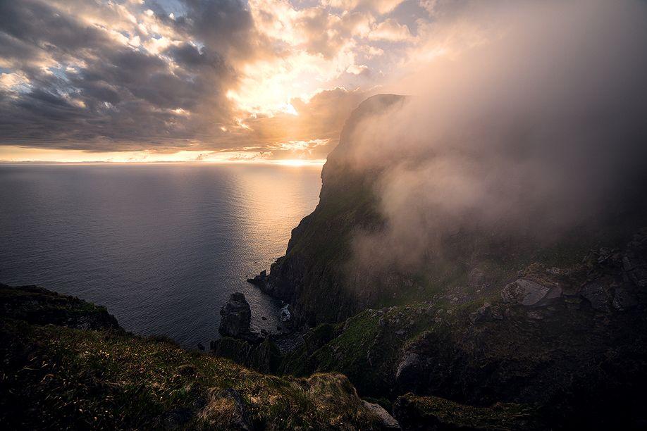 Norwegisches_Meer_und_Wolken