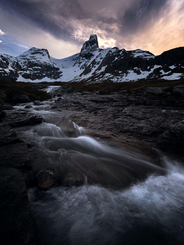 Romsdalshorn_Fluss
