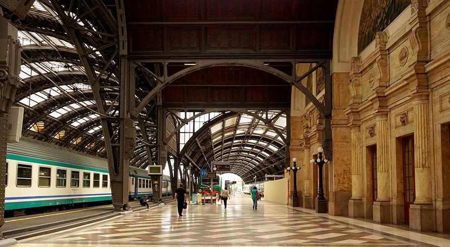 イタリア ミラノ中央駅