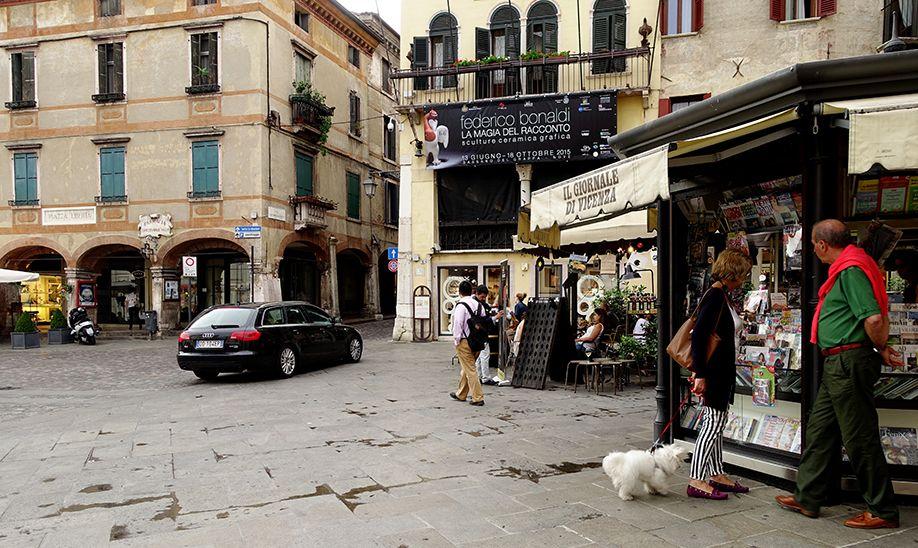 イタリア バッサーノデルグラッパ 旧市街