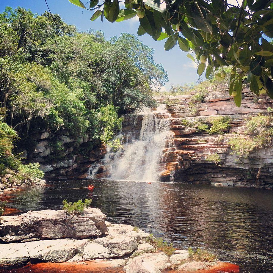 waterfall-chapada-diamantina-brazil