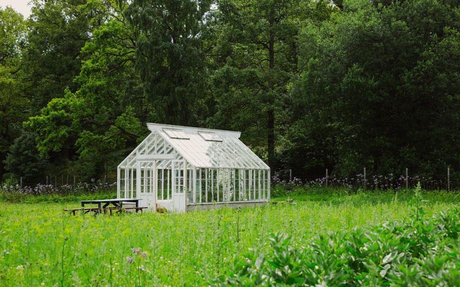 Glashaus in Schweden
