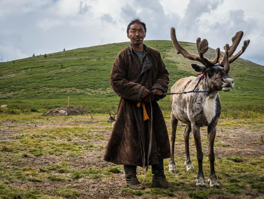 Magsaa Reindeer Herder
