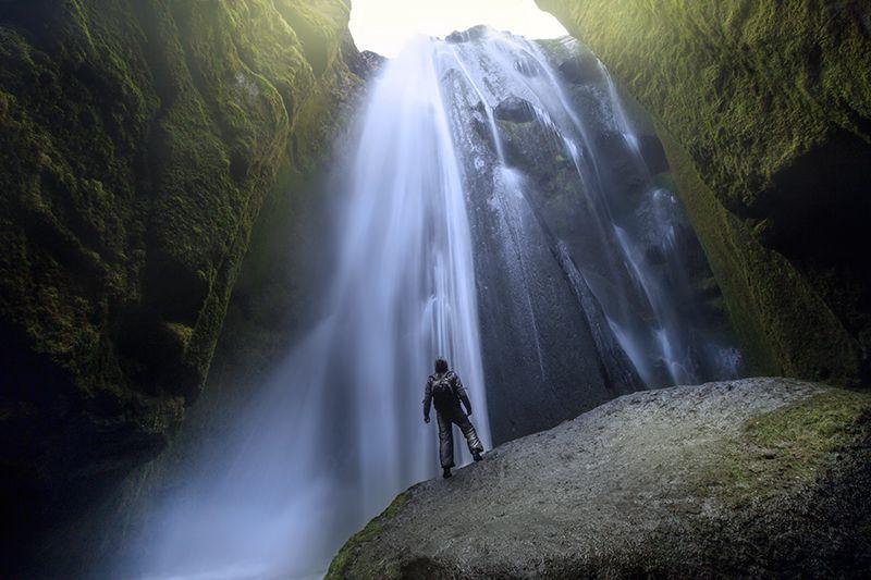 Cascade de Gljúfrabúi