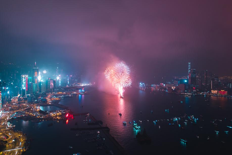 Articolo sui fuochi d'artificio di Elaine Li