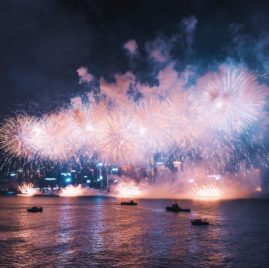 Elaine Li Artikel über Feuerwerke
