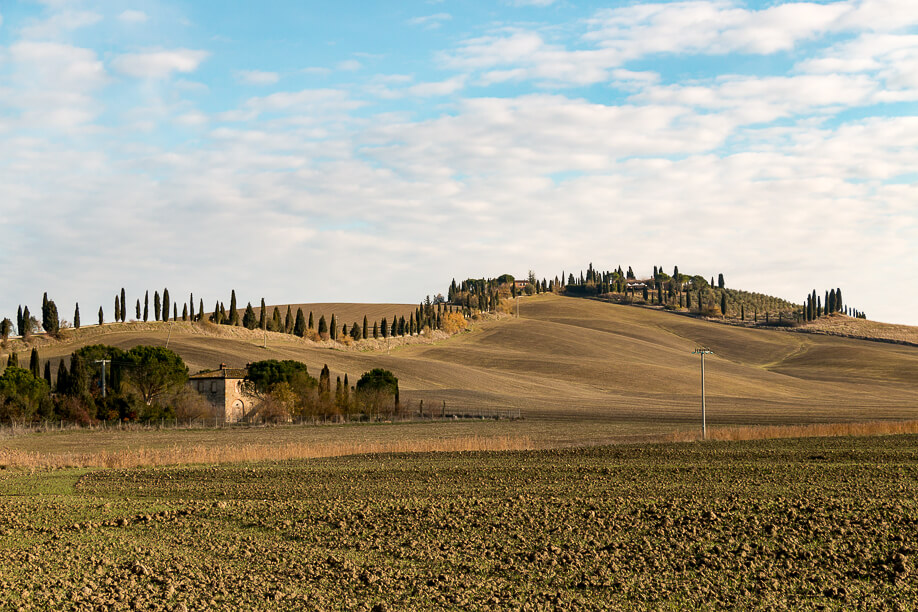 Crete Senesi, Jul's Kitchen per Manfrotto