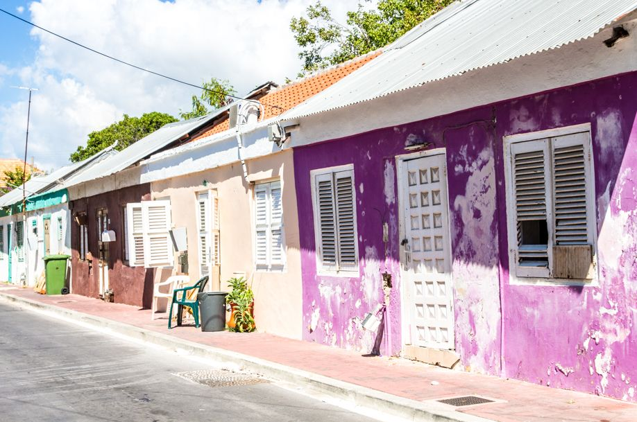 Curacao Willemstad houses