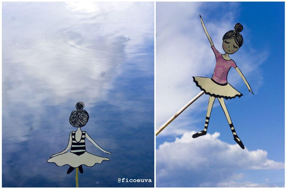 dancer on cloud + dancer paddy field
