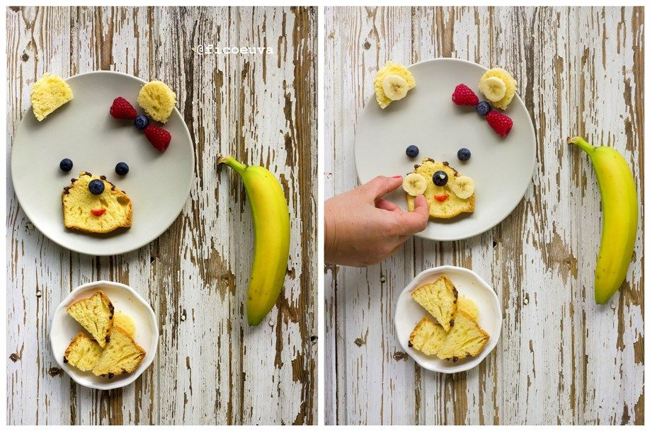 collage 4 second step banana