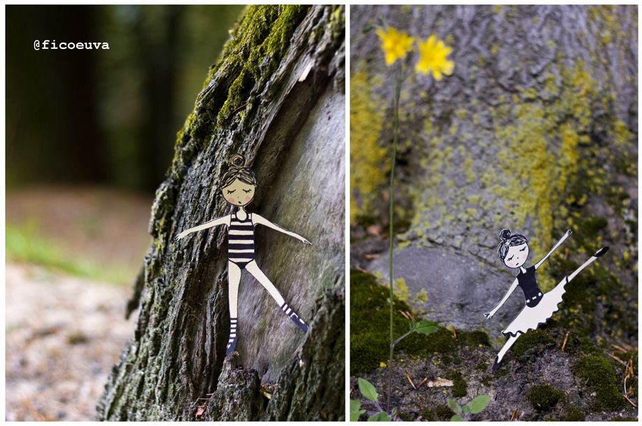 dancer tree and yellow moss