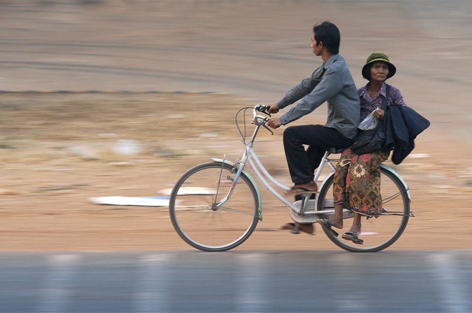 Asia by bicycle... the taste of freedom