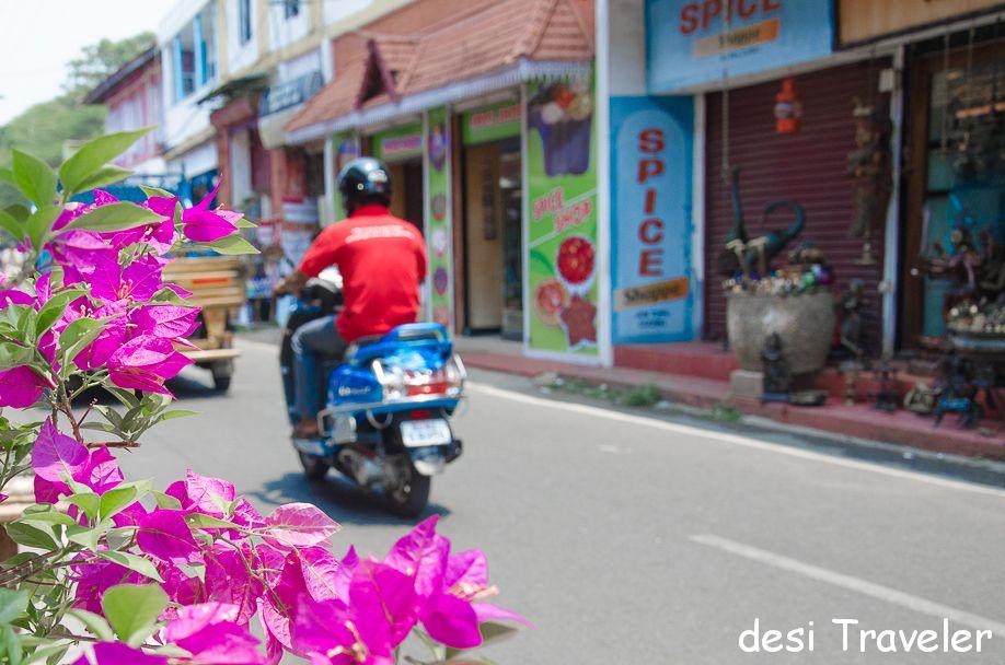 Streets of Jew Town Fort Kochi