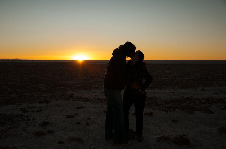 PHOTO3_A passionate sunset in Salar de Uyuni BOLIVIA