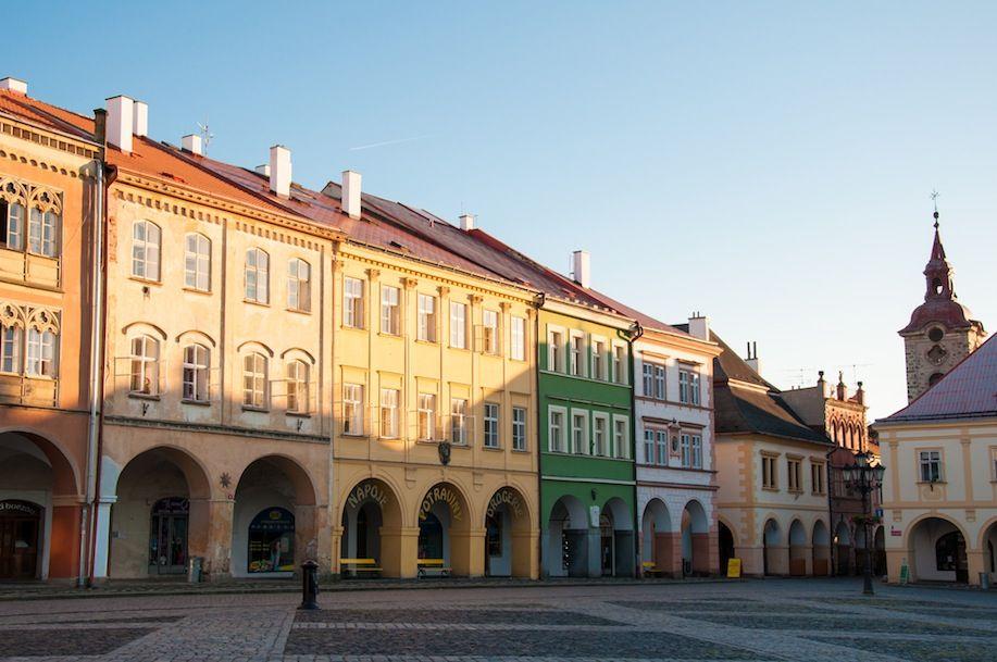 PHOTO4_Town centre of Turnov in the CZECH REPUBLIC