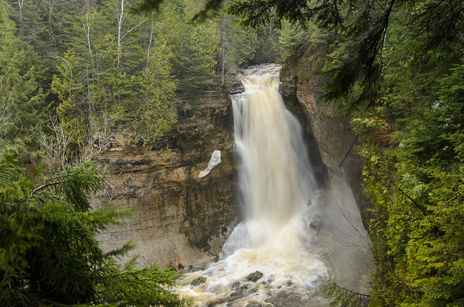 Beautiful Miners Falls in Pictured Rocks National Lakeshore - Munising, MI