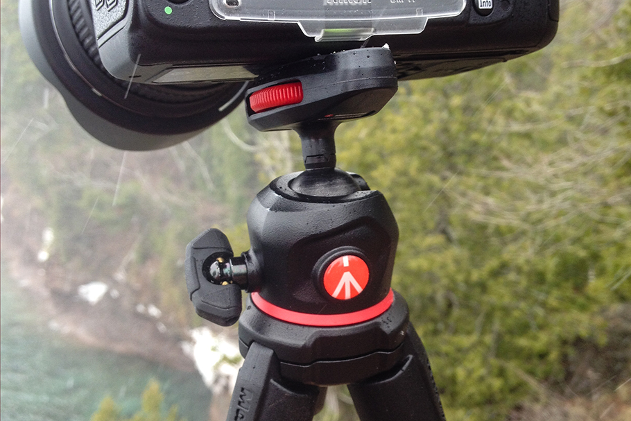 4 Locking ball head with built-in baseplate is a solid fit