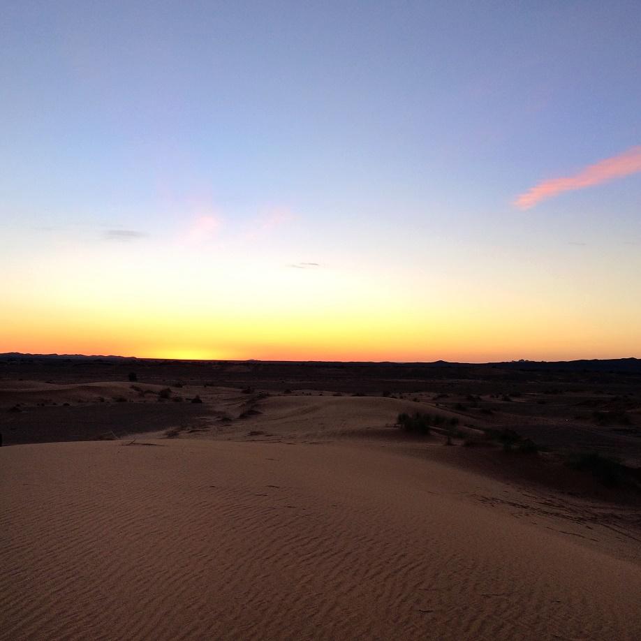 photo 3 - dawn in the desert
