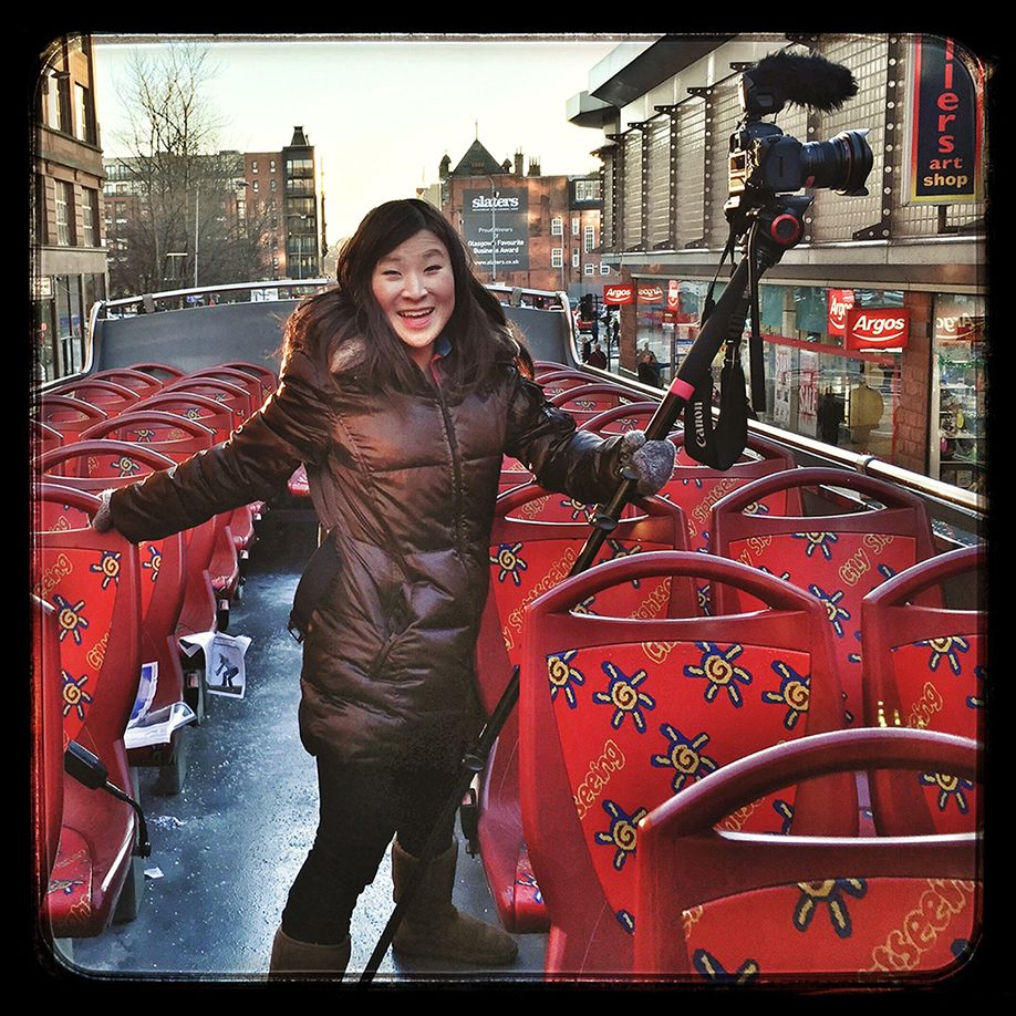 London Double Decker Bus_Monopod_Juilana Broste