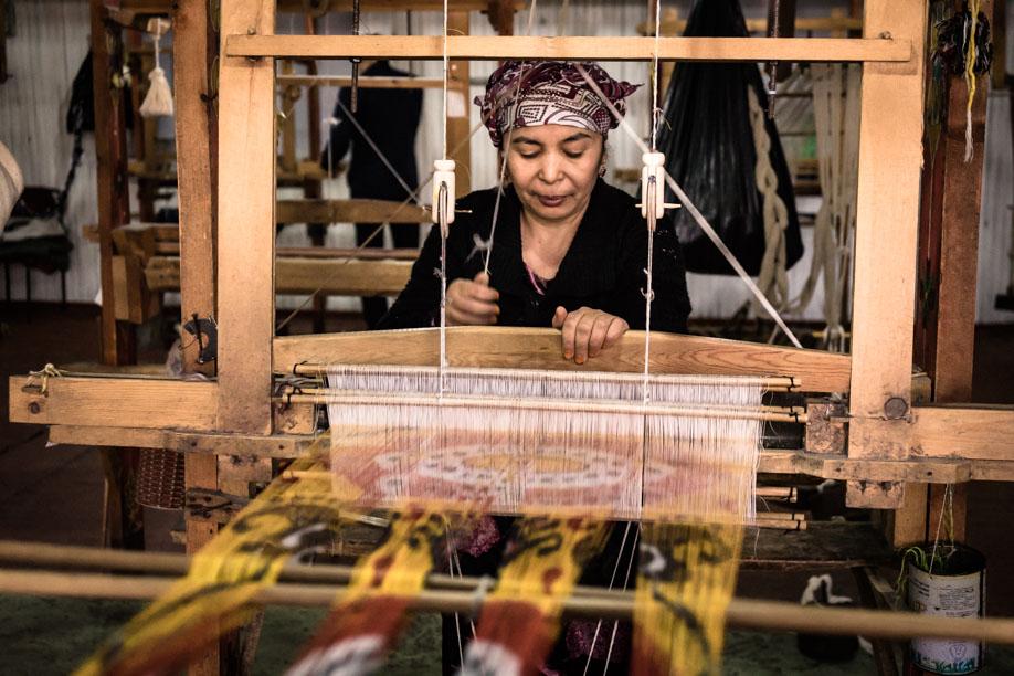 Carpet Uzbek Lady