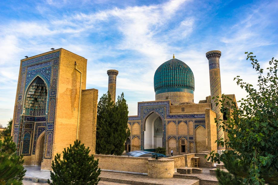 Samarkand Amir Timur Mausoleum