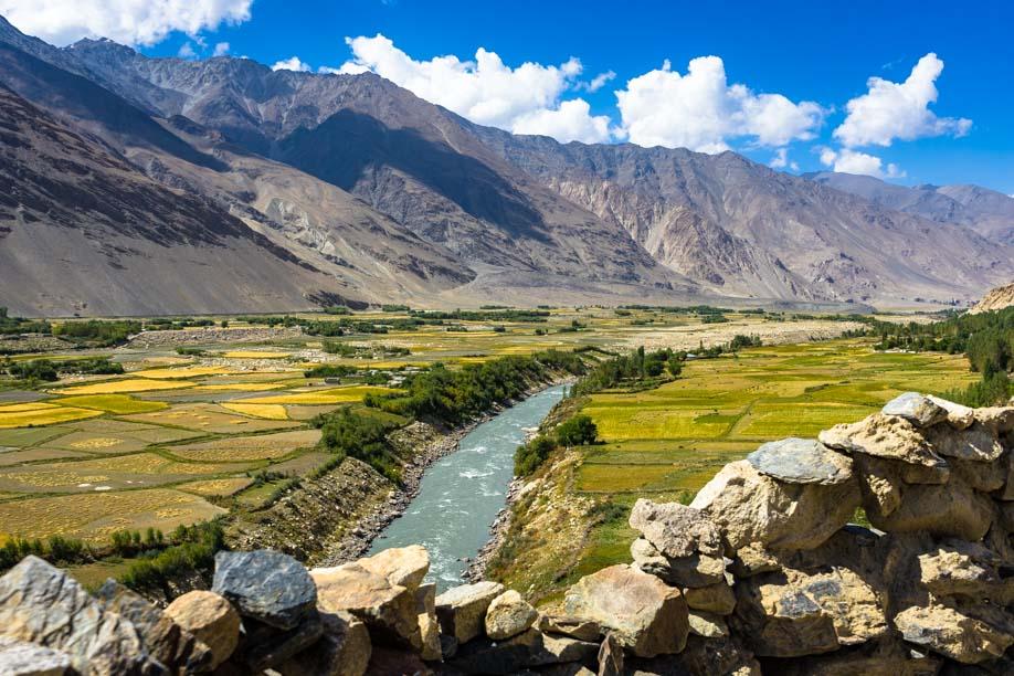 Tajikistan And Afghanistan Pamir Highway