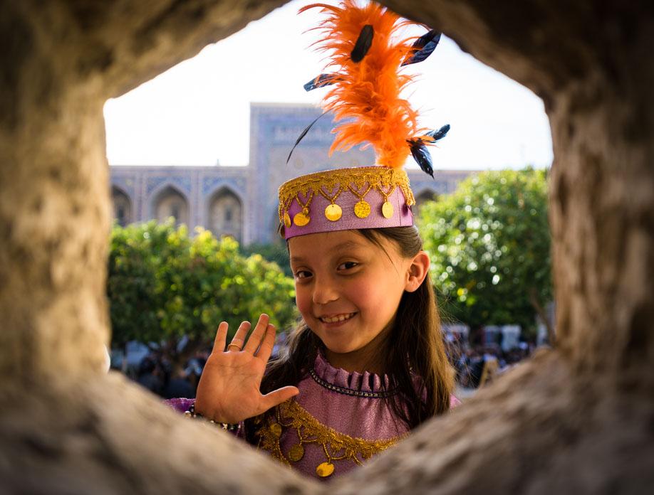 Young Uzbek Girl